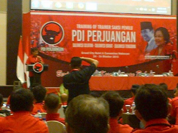 Tiga DPD PDI Perjuangan Gelar TOT Saksi Pemilu di Makassar
